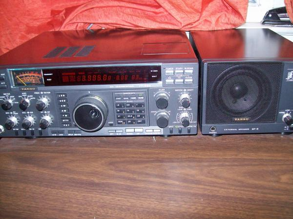 my ft 990 and sp 6 filterd speaker