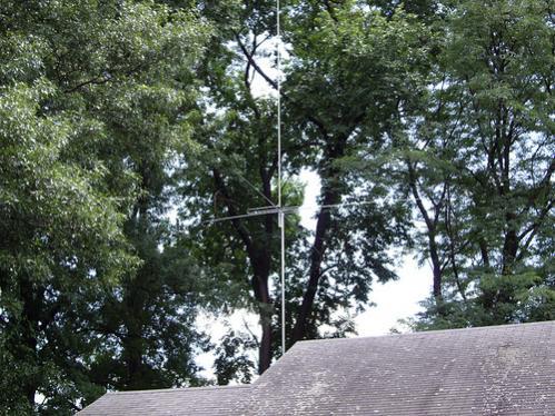 interceptor 10k base antenna at my base