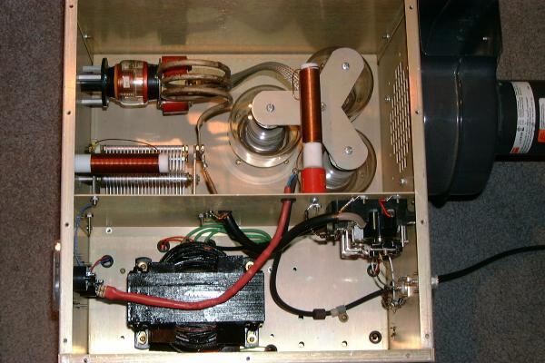 DaveMade 3 tube 3-500Z  Mobile Amp Interior
