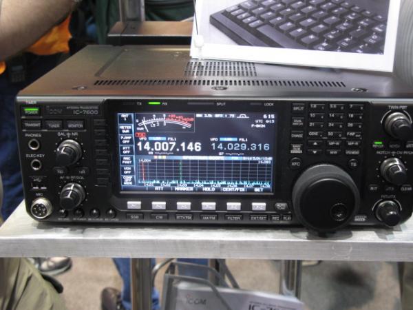New Icom 7600