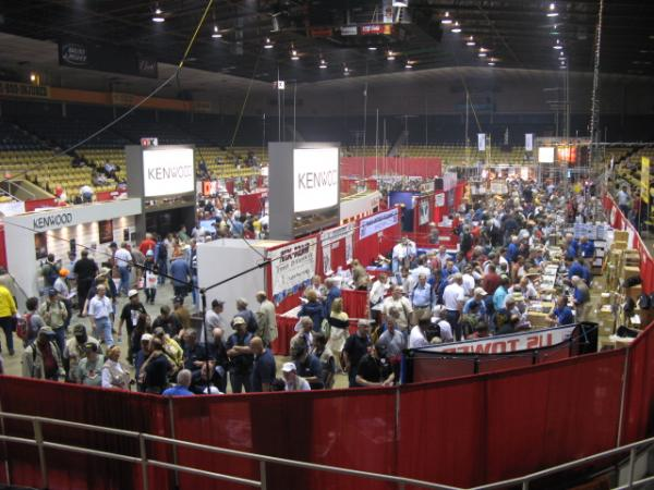 Pic of the main floor of Hara Arena at the Dayton Hamvention