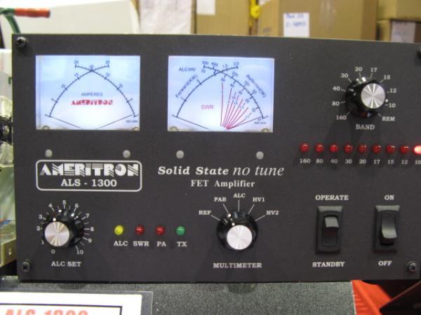 Ameritron ALS-1300 1000 watt solid state amplifier