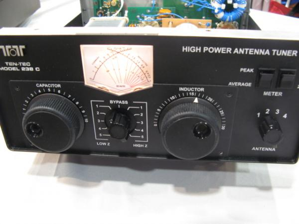 TenTec 238C High Power Tuner face
