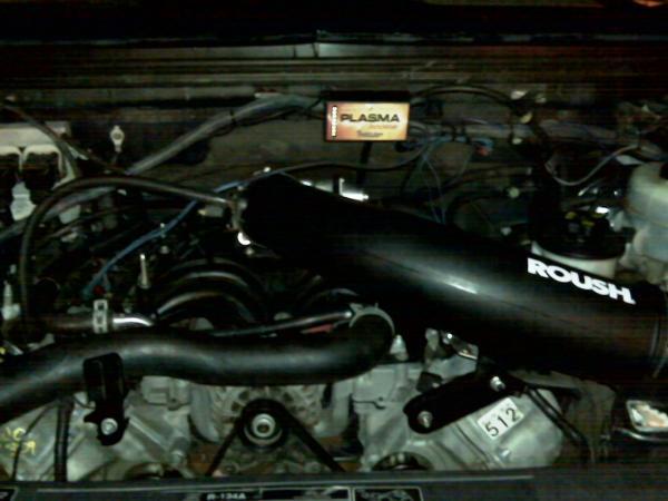 Troyer Modded 5.4 Roush Engine
