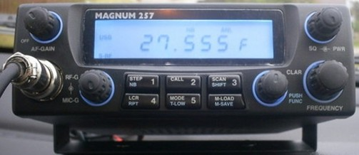 RF Limited Magnum 257.  It is a no-nonsense, all-mode 10/11/12 M rig.  You just can't beat it for under $200.  UPDATE:  Lightning made a mess of the innards of this beauty.  RIP.