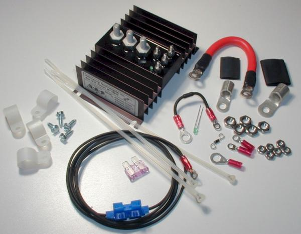 BIC 75300A kit medium to connect second battery under hood for more Amps and Volts!