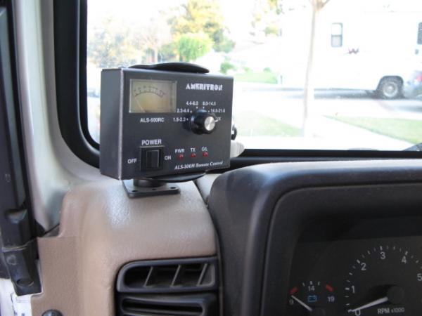 Remote control for Ameritron ALS-500 amplifier