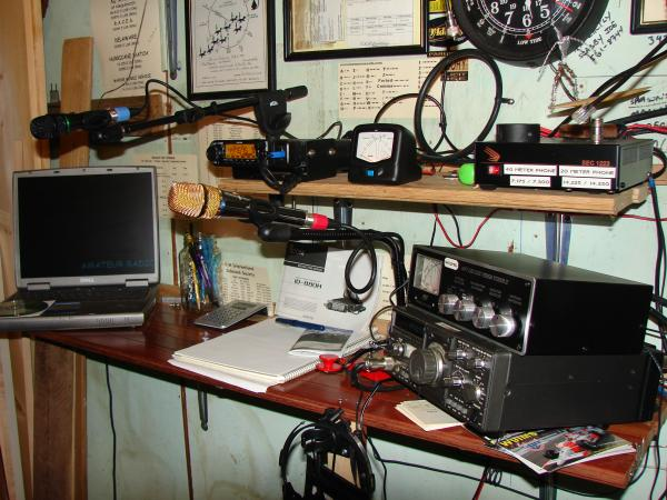 Side view of my latest arrangement.....