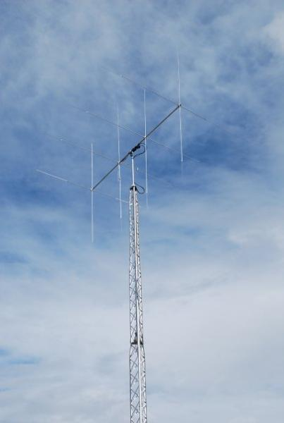 Moonraker 4 and rohn bx 40 tower