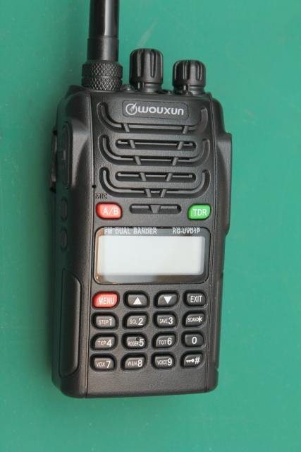 The Wouxun KG-UVD1P 2m/440 HT