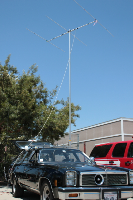 Gordon West mobile with 6m Superantenna