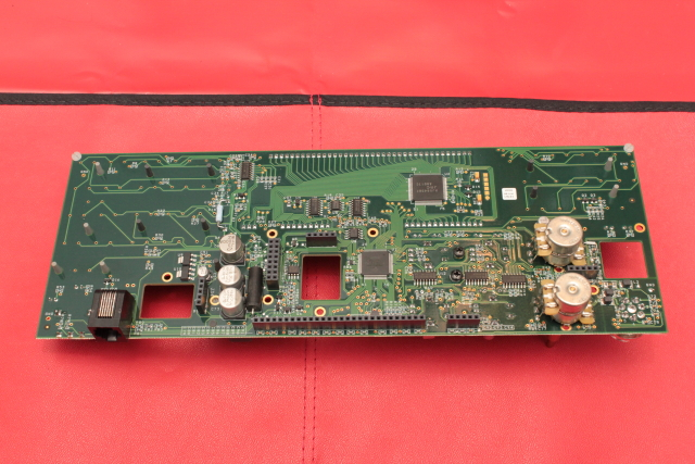 Front panel rear