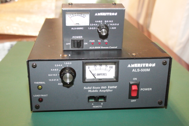 Ameritron ALS-500M with Remote