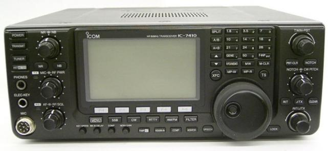 IC-7410 Front
