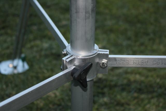 """Penninger 1.5"""" tripod bottom clamp"""