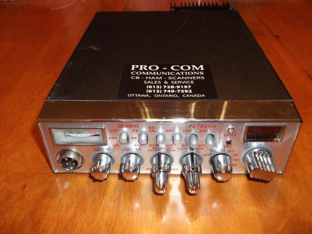 PC 78 Elite  BB3 Echo installed reworked modulation RFX75 (DK 6watt swing 96watt on the bird)