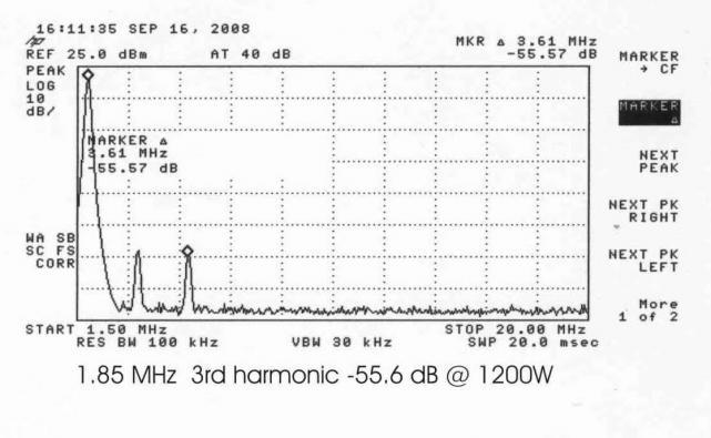 160m 3rd harmonic