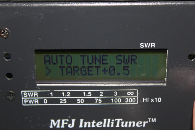 auto tune variance from target swr setting
