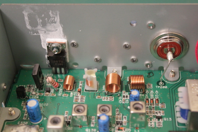 2078 Final PA transistor and filter section