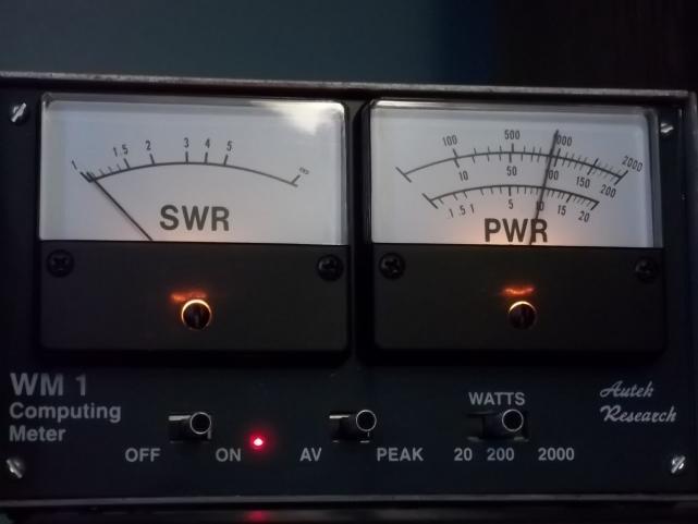 100 0853  WM1 watt meter.