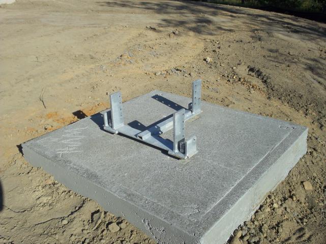 base after concrete cure