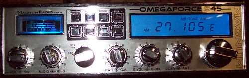magnum omega force, great radio and it's older brother the Delta Force,