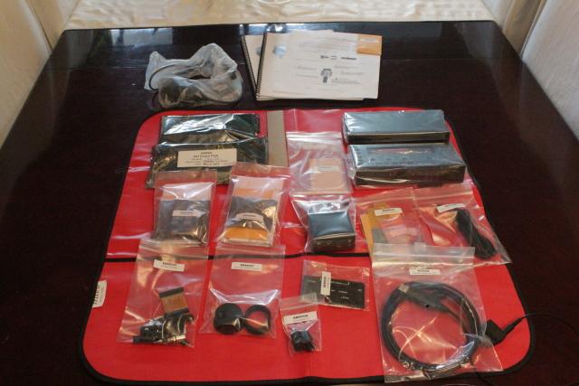 KX3 Parts laid out