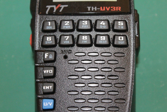 TYT TH-UV3R Buttons