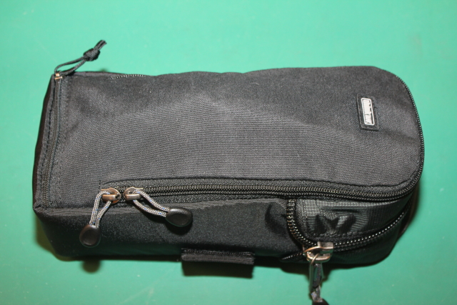 Everything zipped in the Strobe Stuff Think Tank case