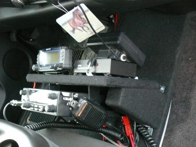 Radios from pass side 2012 Sierra