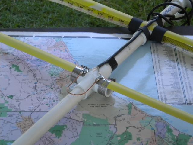 tape measure yagi beta match