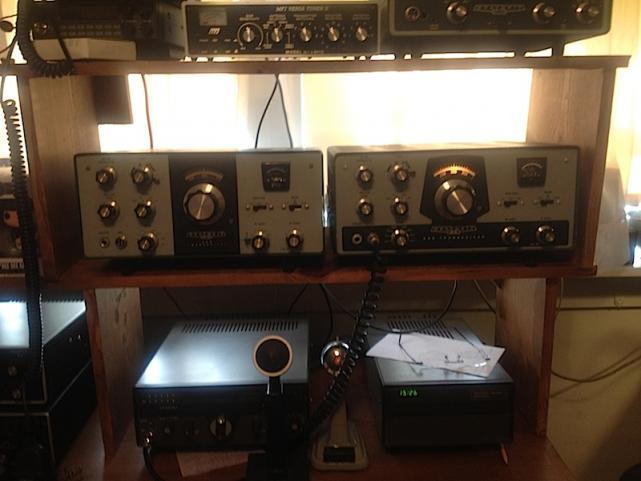 Heathkit HW-101 and HW-100