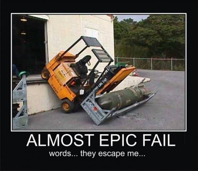 almost epic fail