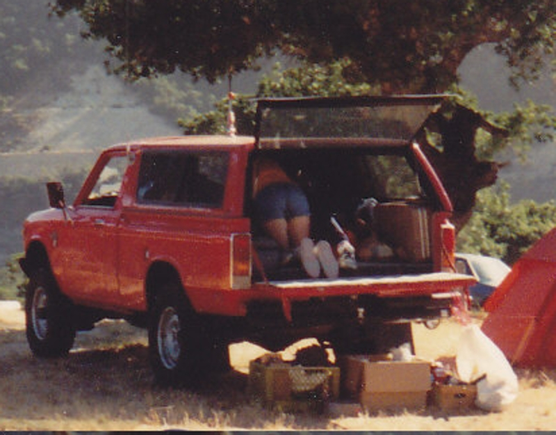 My old '80 Cheby LUV 4x4 (2.0L)