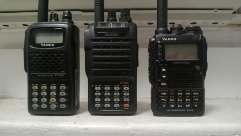 photo front view comparison of the yaesu ft 60r ft 250r and vx 8dr rh worldwidedx com yaesu ft-60 service manual yaesu ft 60 manual user