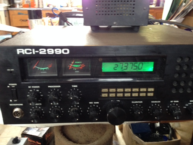 2990 Has an AC issue but works great on SSB and have the parts to fix it, it's for sale 225 plus shipping with all parts included