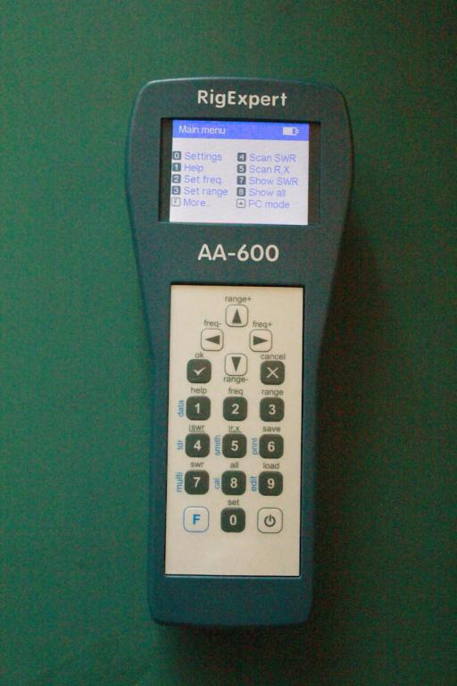 aa-600 main screen