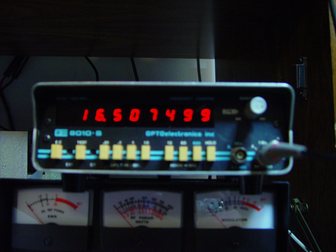 Calibrated Frequency counter