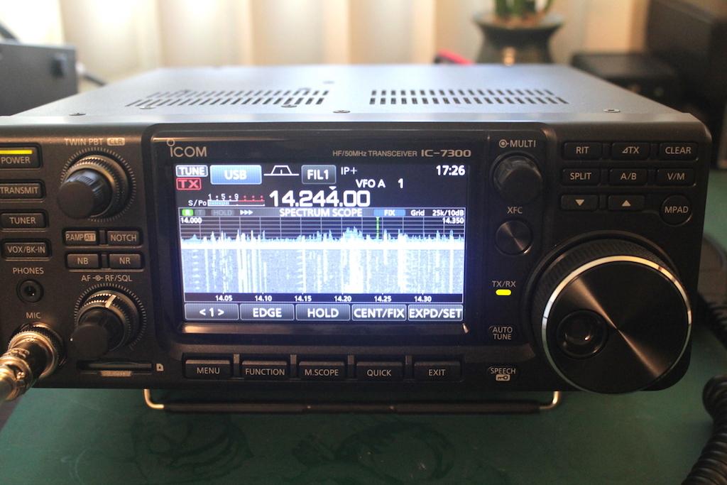 Icom-IC-7300-front-panel