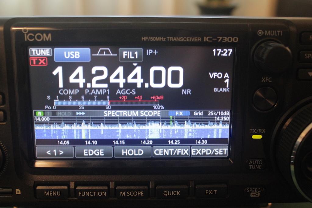 Icom-IC-7300-small-spectrum-scope