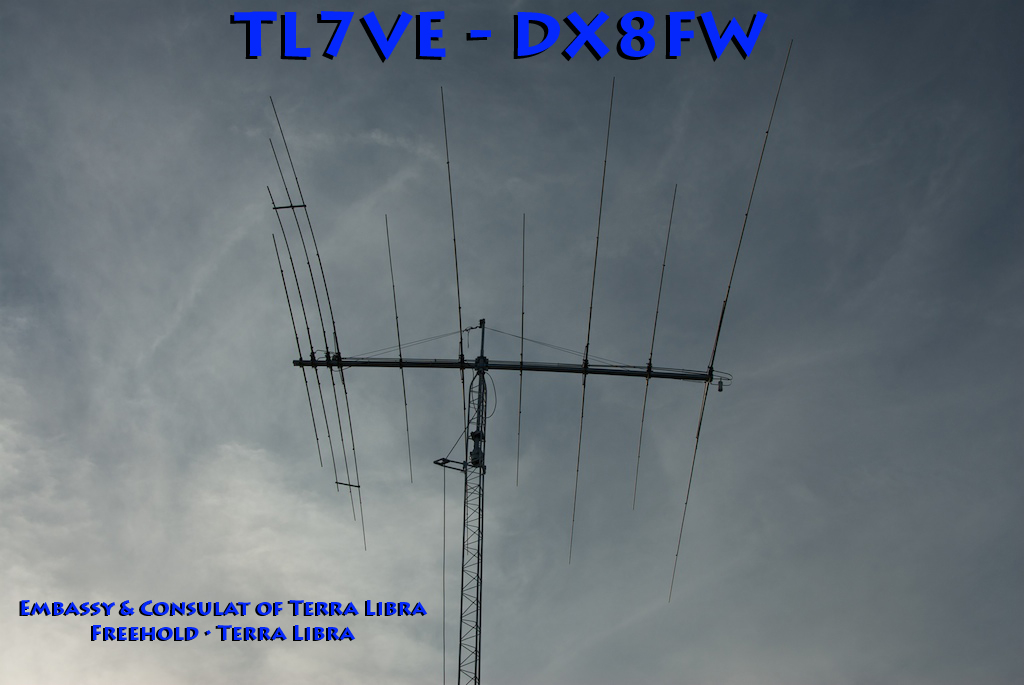 TL7VE - DX8FW QSL Card (2003)