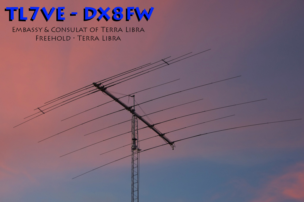 TL7VE - DX8FW QSL Card (2005)
