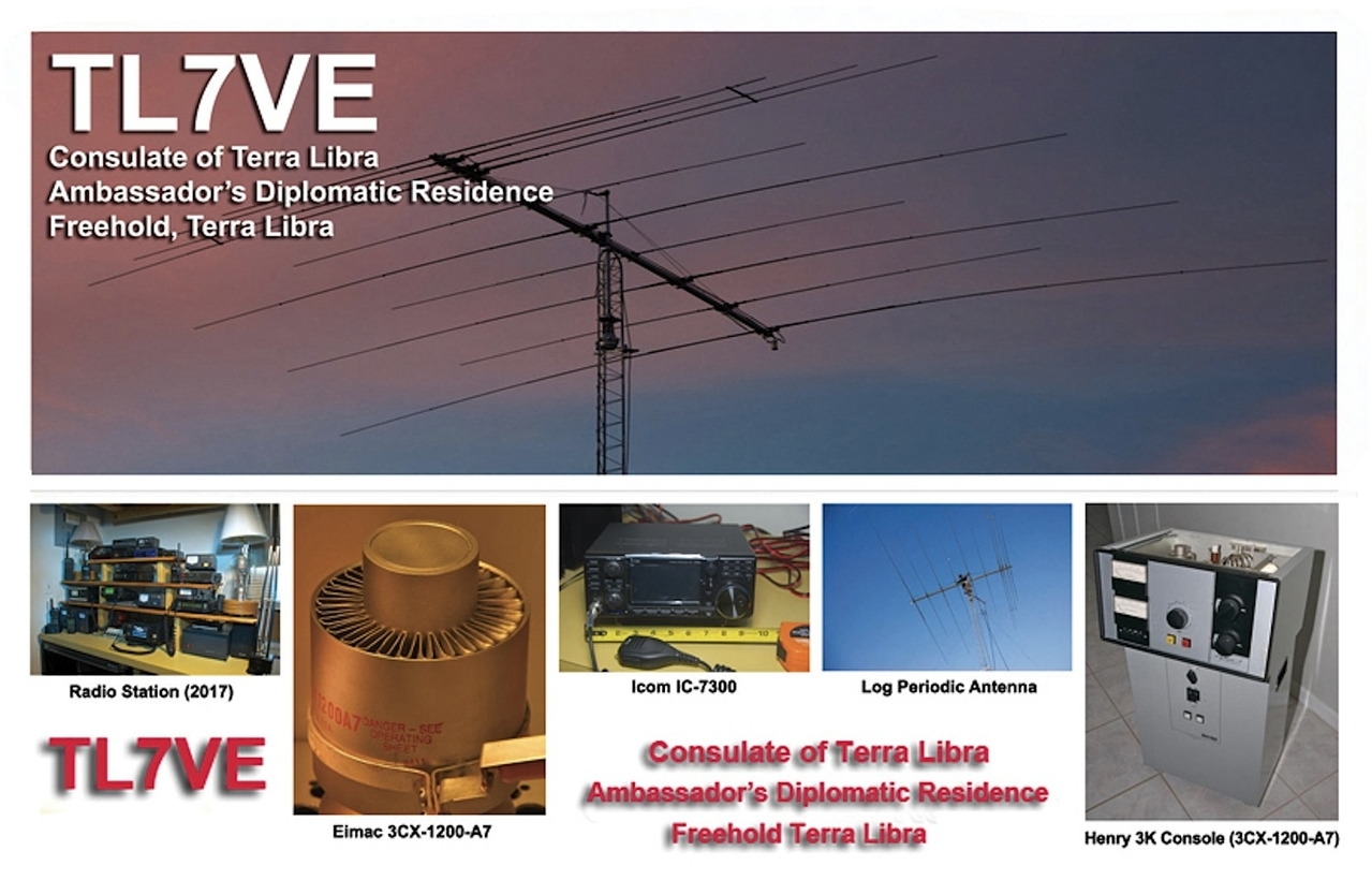 TL7VE QSL Card (Lg)