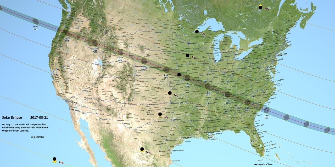 2017-08-21 Solar Elipse