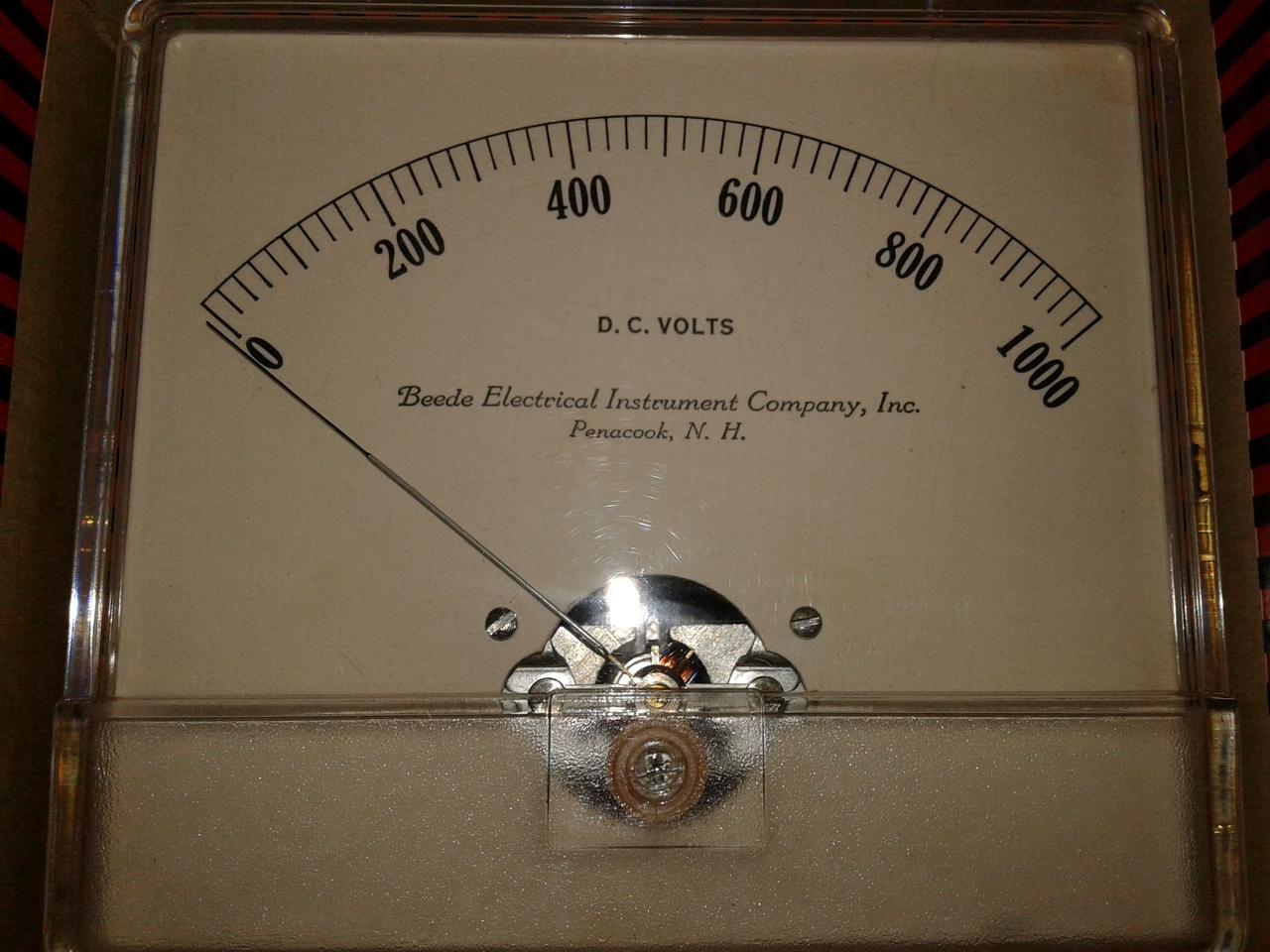 0-1000 Volts D.C.