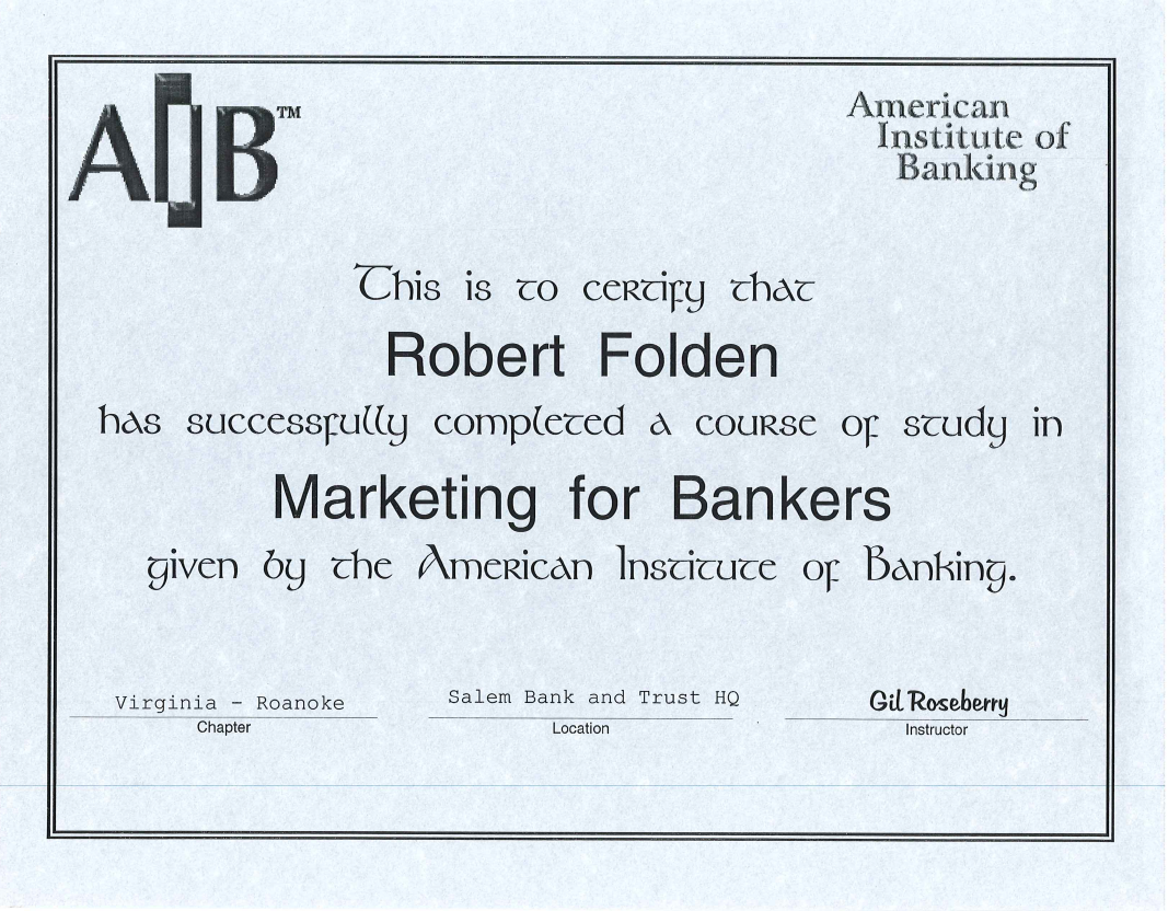 AIB Marketing for Bankers