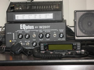 W5YI 8 band EQ & EQ Plus.  Icom 2720H used as my home, personal crossband repeater.