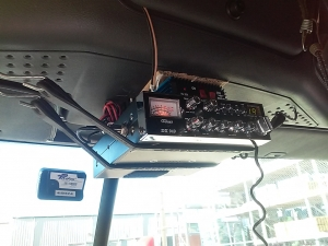 90° antenna mounting solution on CASCADIA