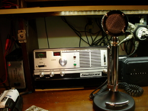 CB Radio Desk & Gear