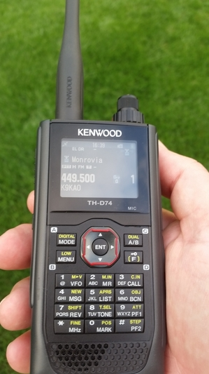 Kenwood TH-D74